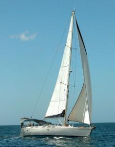 Yacht Ibis Sailing